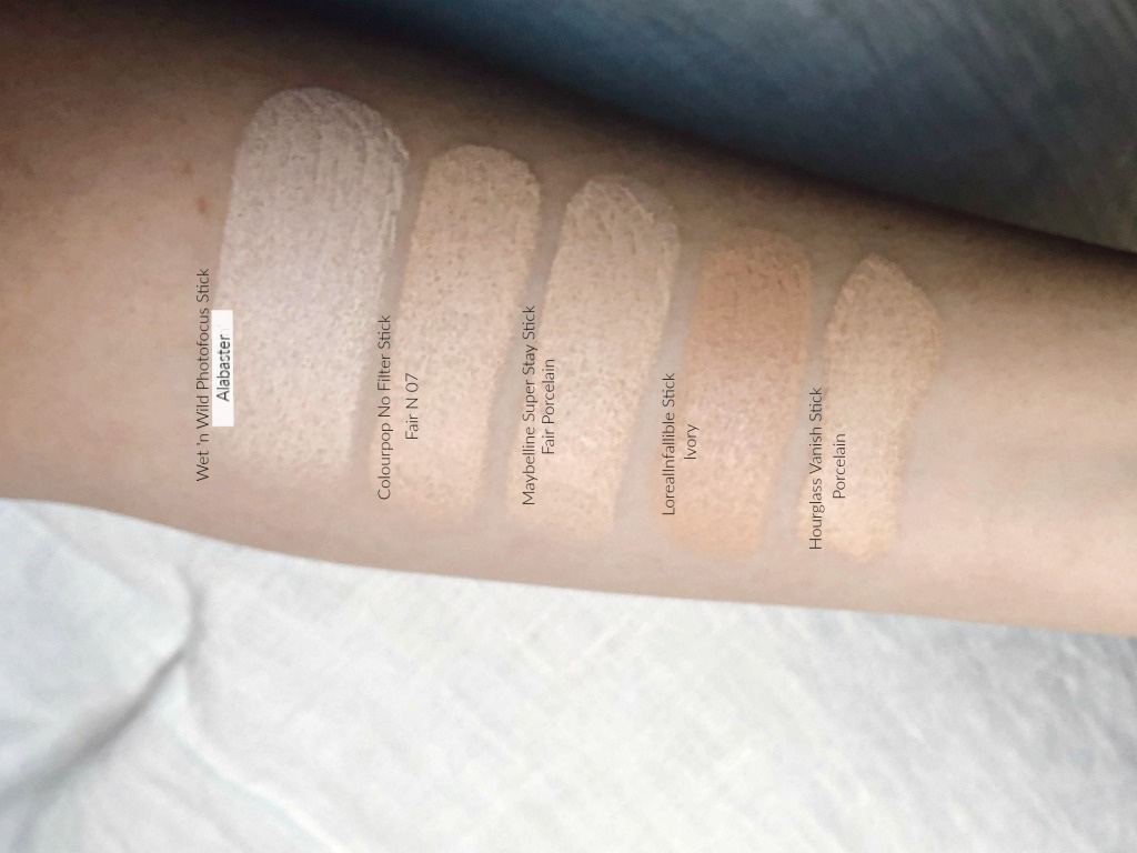 Wet N Wild Photo Focus Stick Foundation Review The Lipstick Narratives